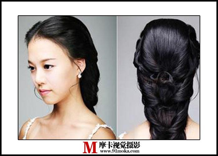 太原摩卡教您韩式新娘发型步骤令女人气质不凡